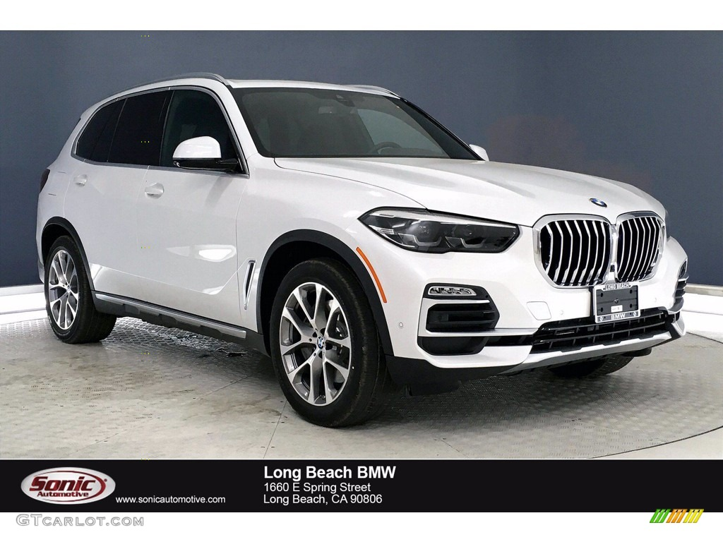 2021 Mineral White Metallic BMW X5 xDrive45e #139097063 ...