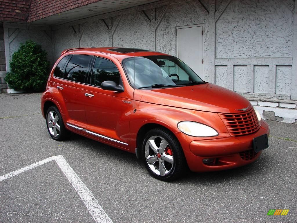 2003 tangerine pearl chrysler pt cruiser dream cruiser. Black Bedroom Furniture Sets. Home Design Ideas