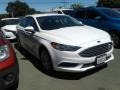 2017 Oxford White Ford Fusion Hybrid SE #139098456