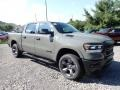 Front 3/4 View of 2020 1500 Big Horn Built to Serve Edition Crew Cab 4x4