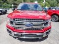 2020 Rapid Red Ford F150 XLT SuperCab 4x4  photo #4
