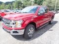 2020 Rapid Red Ford F150 XLT SuperCab 4x4  photo #5