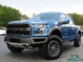 2020 Ford Performance Blue Ford F150 SVT Raptor SuperCrew 4x4  photo #1