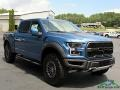 2020 Ford Performance Blue Ford F150 SVT Raptor SuperCrew 4x4  photo #7