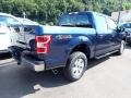 2020 Blue Jeans Ford F150 XL SuperCrew 4x4  photo #2