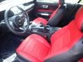 2020 Ford Mustang Showstopper Red Interior Front Seat Photo