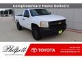 Summit White 2013 Chevrolet Silverado 1500 Work Truck Regular Cab