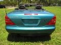 Calypso Green Metallic - SLK 230 Kompressor Roadster Photo No. 15