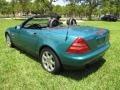 Calypso Green Metallic - SLK 230 Kompressor Roadster Photo No. 30