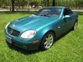 1998 SLK 230 Kompressor Roadster Calypso Green Metallic