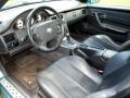 1998 SLK 230 Kompressor Roadster Black Interior