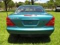 Calypso Green Metallic - SLK 230 Kompressor Roadster Photo No. 44