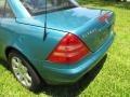 Calypso Green Metallic - SLK 230 Kompressor Roadster Photo No. 69
