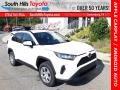 Super White 2020 Toyota RAV4 LE AWD