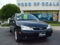 2005 Pitch Black Ford Focus ZXW SES Wagon  photo #9