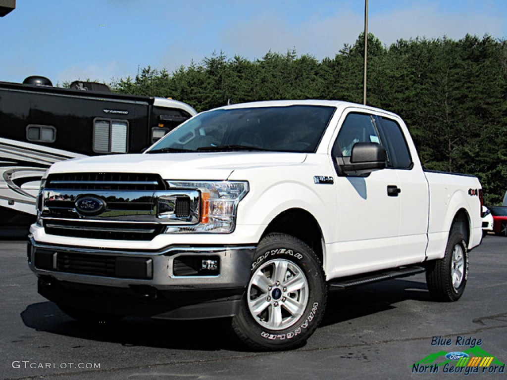 Oxford White Ford F150