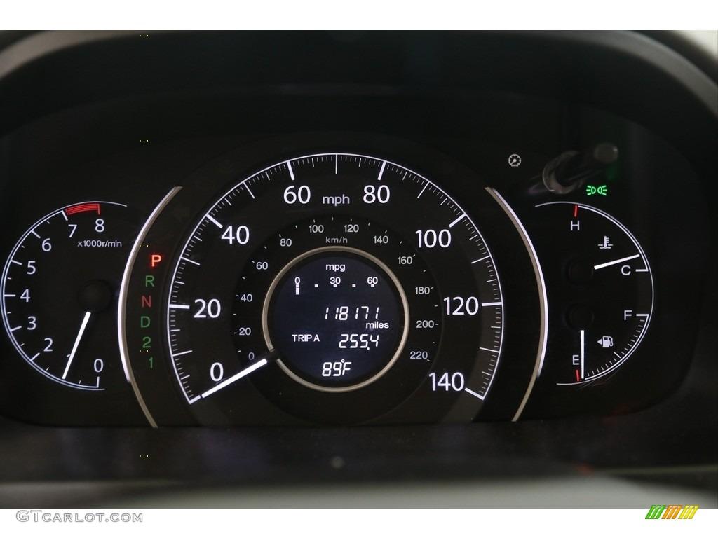 2014 CR-V EX-L AWD - Mountain Air Metallic / Beige photo #10