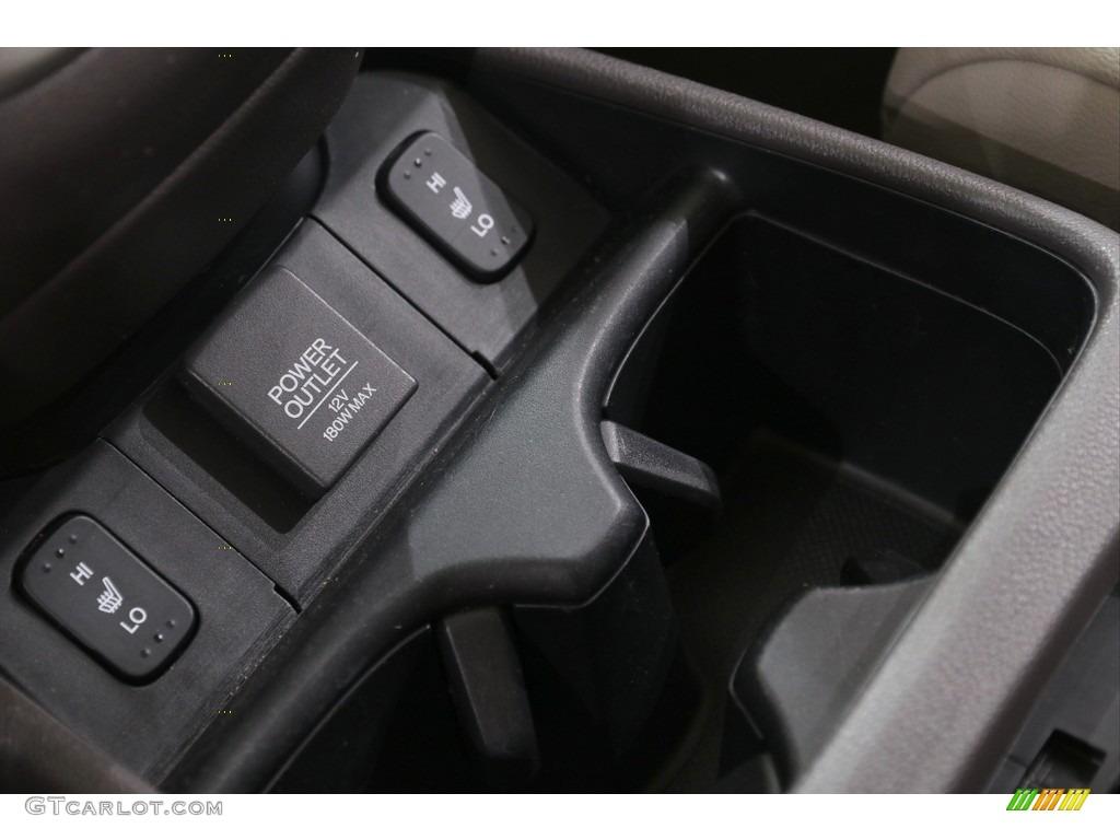2014 CR-V EX-L AWD - Mountain Air Metallic / Beige photo #27