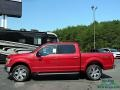 2020 Rapid Red Ford F150 XLT SuperCrew 4x4  photo #2