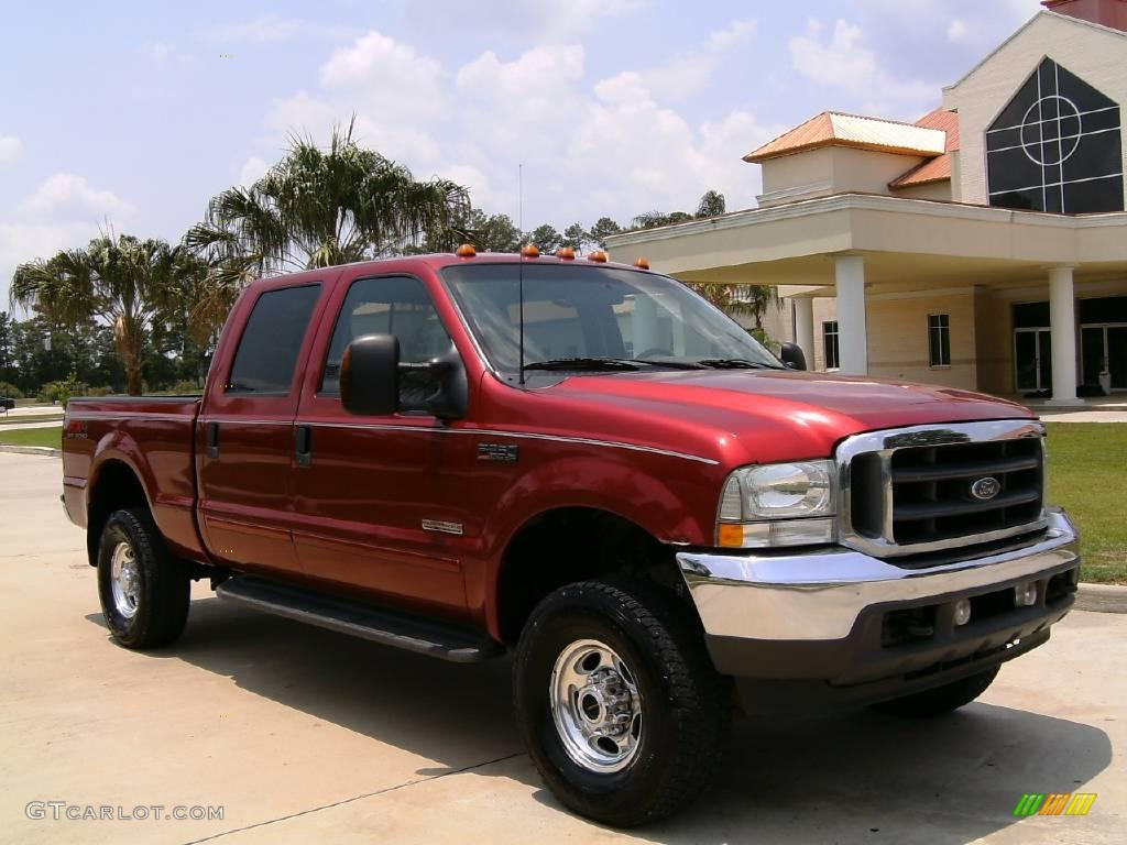 Toreador red metallic ford f250 super duty