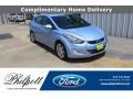 Blue Sky Metallic 2013 Hyundai Elantra Limited