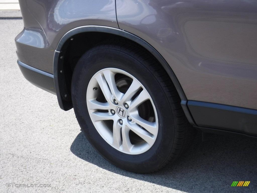 2011 CR-V EX-L 4WD - Polished Metal Metallic / Black photo #3