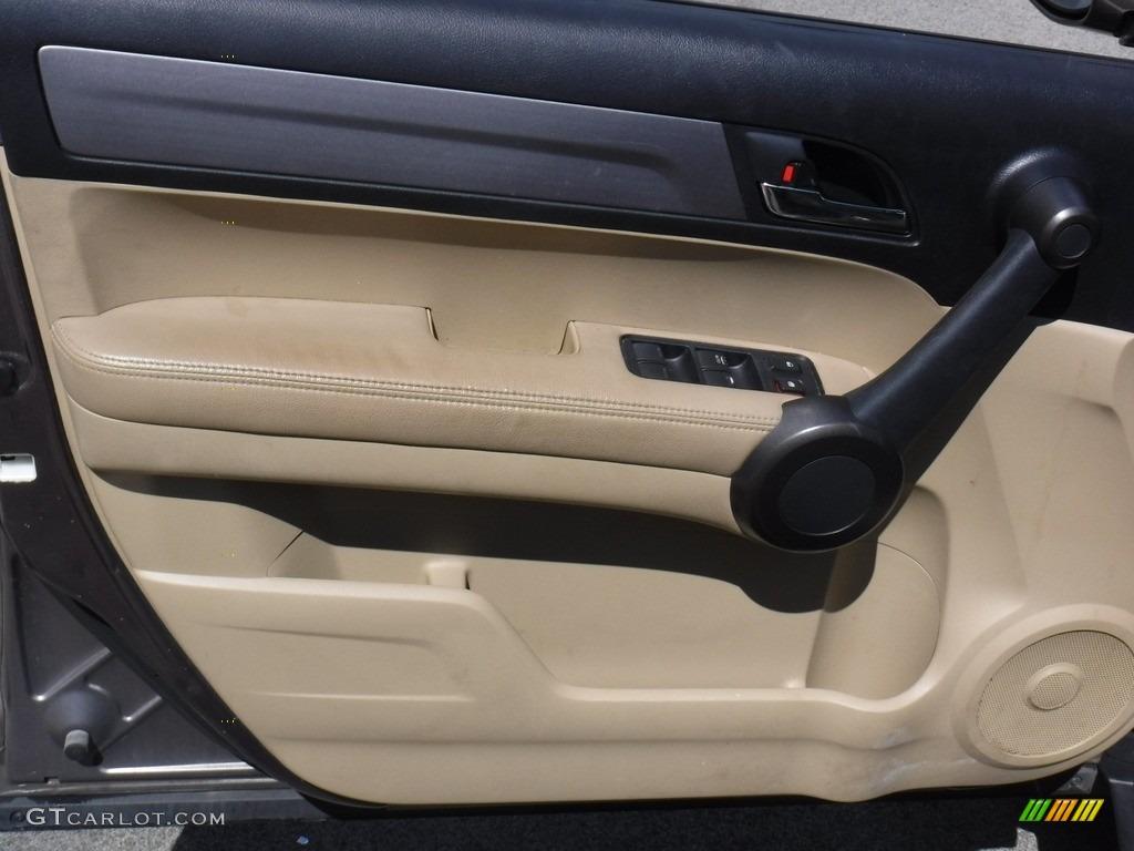 2011 CR-V EX-L 4WD - Polished Metal Metallic / Black photo #16