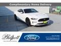 2019 Oxford White Ford Mustang EcoBoost Premium Fastback  photo #1