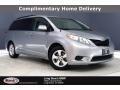 2014 Silver Sky Metallic Toyota Sienna LE #139308052