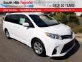 2020 Super White Toyota Sienna LE #139320478