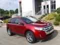 Ruby Red 2014 Ford Edge Limited