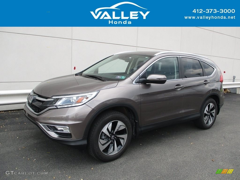 2016 CR-V Touring AWD - Urban Titanium Metallic / Black photo #1