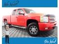 2012 Victory Red Chevrolet Silverado 1500 LT Extended Cab 4x4 #139346674
