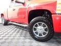 2012 Victory Red Chevrolet Silverado 1500 LT Extended Cab 4x4  photo #3