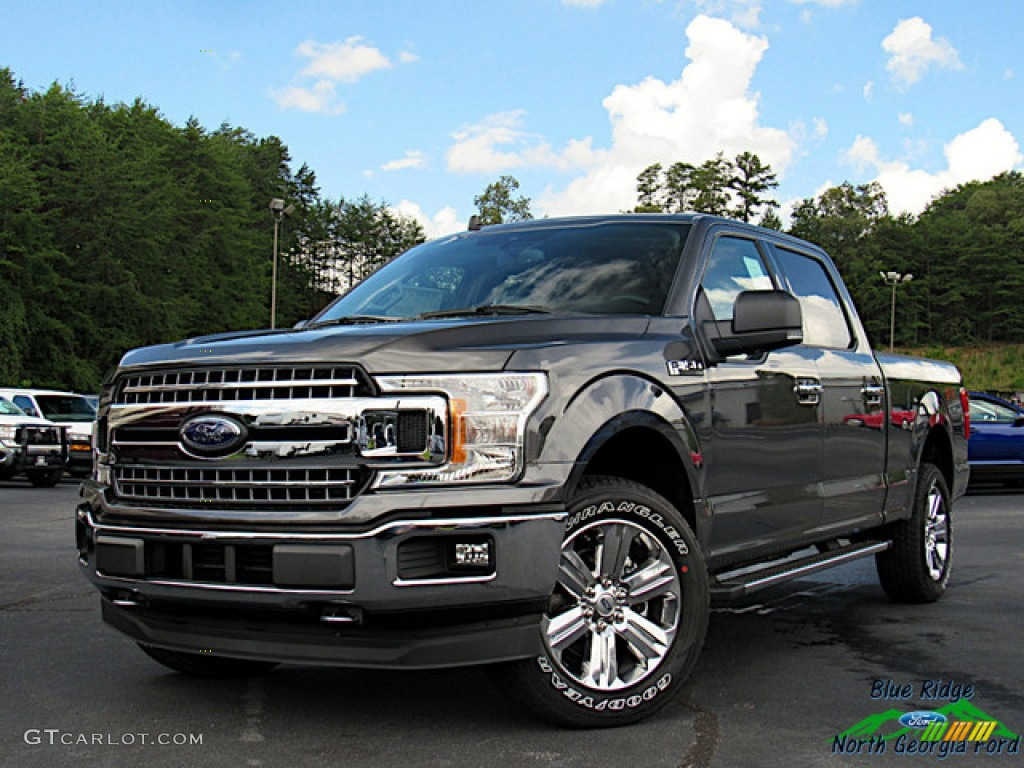 2020 F150 XLT SuperCrew 4x4 - Magnetic / Medium Earth Gray photo #1