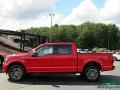 2020 Race Red Ford F150 XLT SuperCrew 4x4  photo #2