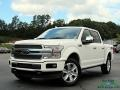 2020 Star White Ford F150 Platinum SuperCrew 4x4  photo #1