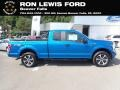 2020 Velocity Blue Ford F150 STX SuperCab 4x4 #139355090