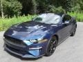 2019 Kona Blue Ford Mustang EcoBoost Fastback  photo #2