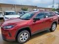 Ruby Flare Pearl 2020 Toyota RAV4 LE AWD