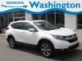 2017 White Diamond Pearl Honda CR-V EX AWD #139406982