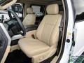 2020 Ford F250 Super Duty Medium Light Camel Interior Interior Photo