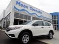 2015 White Diamond Pearl Honda CR-V LX AWD #139437783