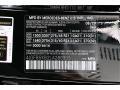 2020 GLE 450 4Matic Black Color Code 040