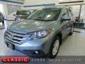2012 Opal Sage Metallic Honda CR-V EX-L 4WD #139478313