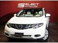 2011 Glacier White Pearl Nissan Murano SL AWD  photo #1
