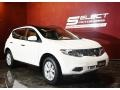 2011 Glacier White Pearl Nissan Murano SL AWD  photo #3