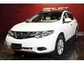 2011 Glacier White Pearl Nissan Murano SL AWD  photo #5