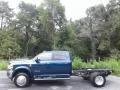 2020 4500 Laramie Crew Cab 4x4 Chassis Patriot Blue Pearl