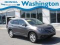 2012 Urban Titanium Metallic Honda CR-V EX 4WD  photo #1